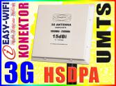PANEL 15dBi 10M 3G UMTS HSDPA MERLIN OPTION HUAWEI